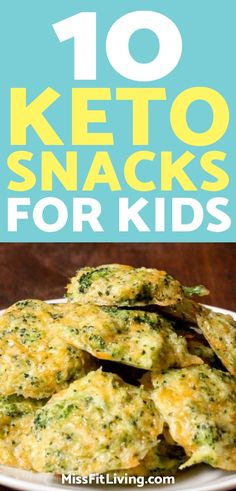 Ready to get started with the ketogenic diet with your children? These keto snacks will help get the whole family transitioned over to keto. Keto Foods, Ketogenic Recipes, Low Carb Recipes, Diet Recipes, Paleo Diet, Whole Food Recipes, Cookie Recipes, Atkins Snacks, Snacks Kids
