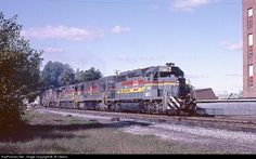 RailPictures.Net Photo: L&N 8072 Louisville & Nashville EMD SD40-2 at Corbin, Kentucky by JR Owens