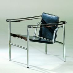 Le Corbusier; Pierre Jeanneret; Charlotte Perriand, Fauteuil a dossier basculant