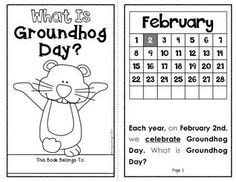 What Is Groundhog Day? {A Holiday Reader for Primary Students} 8 Student Pages #groundhogday $
