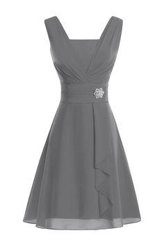 ModernBride Women Elegant Summer Chiffon Mother's Dresses 2015 at Amazon Women's Clothing store: