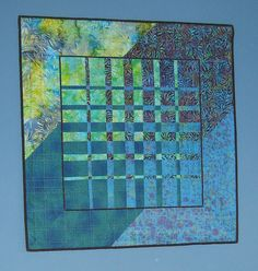 An example of a convergence quilt. This technique will be taught at the Covenant Pines Bible Camp Quilter's Retreat Nov. 5-8, 2015.