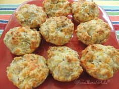 All in One Biscuit Bombs: A modern take on an old fashioned Southern biscuit, loaded with flavorful sausage, cheese, and chilies.  |  Southern Plate