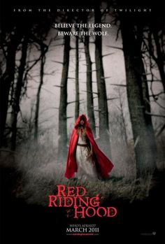 RED RIDING HOOD (2011): Set in a medieval village that is haunted by a werewolf, a young girl falls for an orphaned woodcutter, much to her family's displeasure.