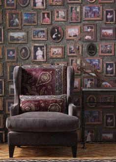 Gallery wallpaper from Andrew Martin