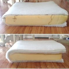 How to Make Your Lumpy Couch Look Like New - Handy DIY furniture kitchens furniture modern furniture couches Diy Sofa, Diy Furniture Couch, Furniture Repair, Furniture Upholstery, Furniture Makeover, Couch Makeover, Patio Furniture Cushions, Furniture Cleaning, Reupholster Couch