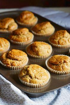 Muffin salati con noci e pecorino | Farina lievito e fantasia