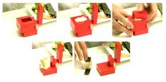 Sushi 2.0: Heel eenvoudig vierkante sushi maken