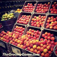 It's #peach season and sales are #peachy #peachtea #peachrecipes