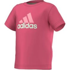I S TEE Mädchen T-Shirt - ADIDAS - 104 - T-Shirts   Tanks