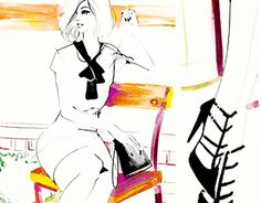 Fashion Illustration by Pat Chiang