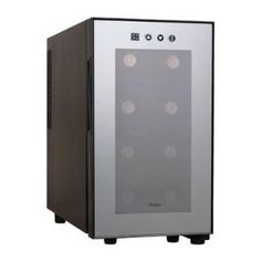 Haier HVTM08ABS 8-Bottle Wine Cellar with Electronic Controls --- http://www.amazon.com/Haier-HVTM08ABS-8-Bottle-Electronic-Controls/dp/B00519CX1E/?tag=shiningmoonpr-20
