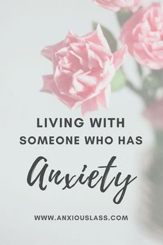 Living with someone who has anxiety #PanicAttackKids