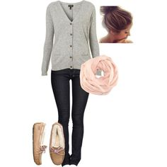 school outfit by elizabethrosemond on Polyvore Super comfy day!