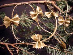 Pasta Ornaments!