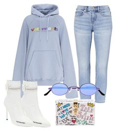 """Untitled #75"" by miavilhelmiina ❤ liked on Polyvore featuring Vetements, Off-White, Dolce&Gabbana and Roberi & Fraud"