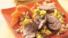 Cumin and jalapeño impart zesty flavor to pork, while pineapple and marmalade lend a little sweetness.