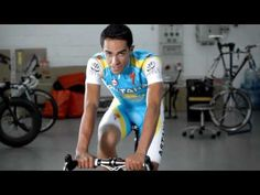 hhh Alberto Contador Andy Schleck In It To Win It - Spezialized click image Funny Commercials, Cycling, Biking, Fitness, Sports, Image, Hs Sports, Funny Ads, Bicycling