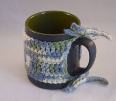 Your place to buy and sell all things handmade Drink Stand, Crochet Cup Cozy, Cup Sleeve, Loom Knitting, Stay Warm, Java, Cool Stuff, Stuff To Buy, Buy And Sell