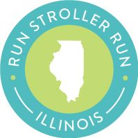 Stroller friendly races in Illinois #strollerrrunner #stroller #running #illinois