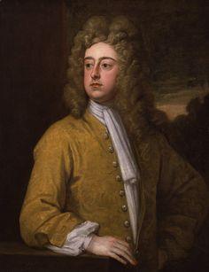 """Francis Godolphin, 2nd Earl of Godolphin"" by Sir Godfrey Kneller"