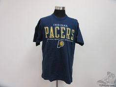 Vtg 90s Pro Player Indiana Pacers Crewneck Short Sleeve t Shirt sz XL X Large  #ProPlayer #IndianaPacers #tcpkickz