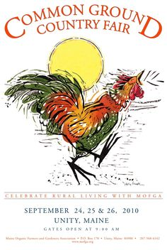 2010 Country Ground Country Fair poster (Maine)
