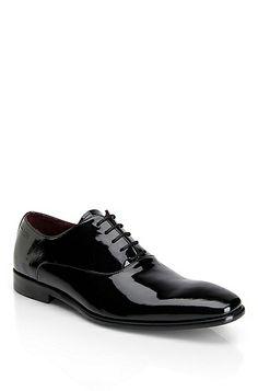 'Mellio' | Patent Leather Dress Shoe by BOSS