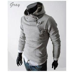 Men's casual Hoodies Sweatshirt cotton coat winter outerwear jackets clothes long sleeve shirt New $23.99