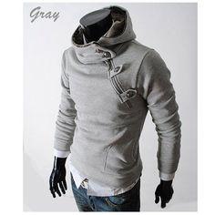 Men's casual Hoodies Sweatshirt cotton coat winter outerwear jackets clothes long sleeve shirt  New $23.99