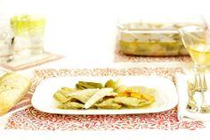 Prepara tus menús de verano con comidas frescas y nutritiva. Empieza con esta ensalada de verduras en escabeche, ¡te encantará!