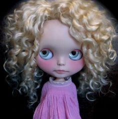 Custom OOAK EBL Disco Boogie Blythe Doll Petite Wanderlings Blond Mohair Nude | eBay