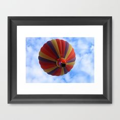 Buy Balloon  by Christine baessler as a high quality Framed Art Print. Worldwide shipping available at Society6.com. Just one of millions of products available.
