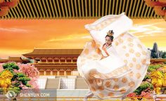 Wang's grace and athleticism have made her a favourite dancer among audience members around the world. www.shenyun.com