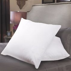 """Sweet Home Collection Down Alternative Polyester Square Euro Pillow Insert (Pack of 2), 26 x 26"""""""