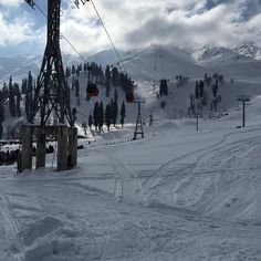 Day-3, 6km ski track successfully covered, tomorrow will be a tiring day, stay tune more will come tomorrow #Gulmarg #kashmir #solotravel #travel #Trodly #GetOutside #makememories #SkiSeason #ski