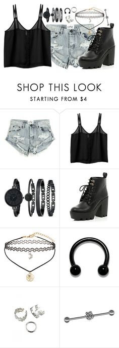 """""""Save me from myself"""" by rocketsheep ❤ liked on Polyvore featuring OneTeaspoon, Monki, Anne Klein, River Island, Miss Selfridge, lyrics and WeCameAsRomans"""