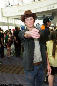Carl Grimes (Walking Dead) #MegaCon2014