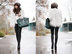 Lookbookstore Jacket, Oasis Pants, 3.1 Phillip Lim Bag, Jeffrey Campbell Boots