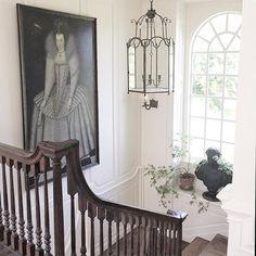 "2,312 Likes, 14 Comments - Nicolas & Charlotte Horsch (@horschinteriors) on Instagram: ""repost @sophieconran @jasperconran s beautiful house.. Elizabethan portraits have a certain static…"""