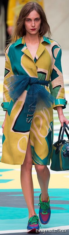 Burberry Spring Summer 2015