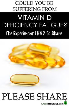 Could you be suffering from Vitamin D Deficiency Fatigue?  Read my personal experiments now.-Living in Washington I know I am