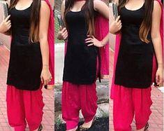 Patiala Suit Designs, Salwar Designs, Kurta Designs Women, Kurti Designs Party Wear, Patiala Dress, Salwar Kameez, Patiala Pants, Punjabi Salwar Suits, Dress Indian Style