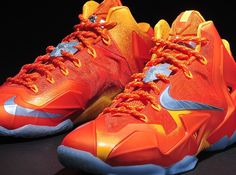 """Nike LeBron XI """"Forging Iron"""""""