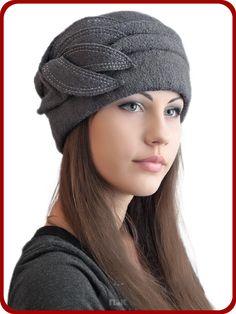 Берет Паола - Женские шапки - Из кашемира
