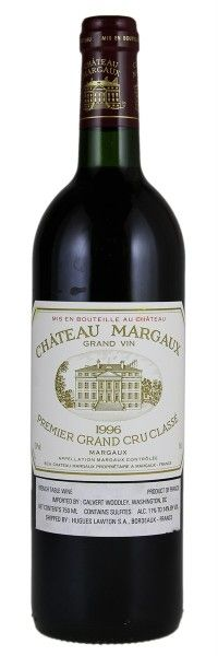 1996 Margaux. Type: Red Wine, Bordeaux Red Blends (Claret), Premier Cru (First Growth), 750ml. Region: France, Bordeaux, Margaux. 515$ (12.875 Kc)