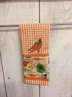 Check it out!  Cutie Carrot Kitchen Towel at www.jendyandfriends.com