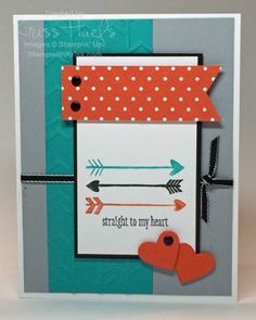 masculine Valentine, stampin up valentines day card ideas, love you more stamp set, http://stampwithkriss.com/straight-to-my-heart