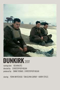 Alternative Minimalist Movie/Show Polaroid Poster - Dunkirk Iconic Movie Posters, Minimal Movie Posters, Cinema Posters, Movie Poster Art, Iconic Movies, Cool Posters, Poster Wall, Film Posters, Film Poster Design