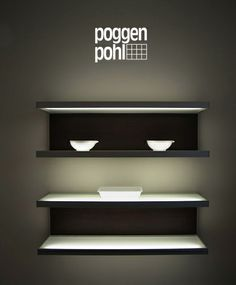 The power of lighting... Poggenpohl = an expression of personality!  #poggenpohl #lighting #shelvingsystem